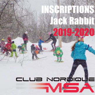 Inscriptions Jack Rabbit